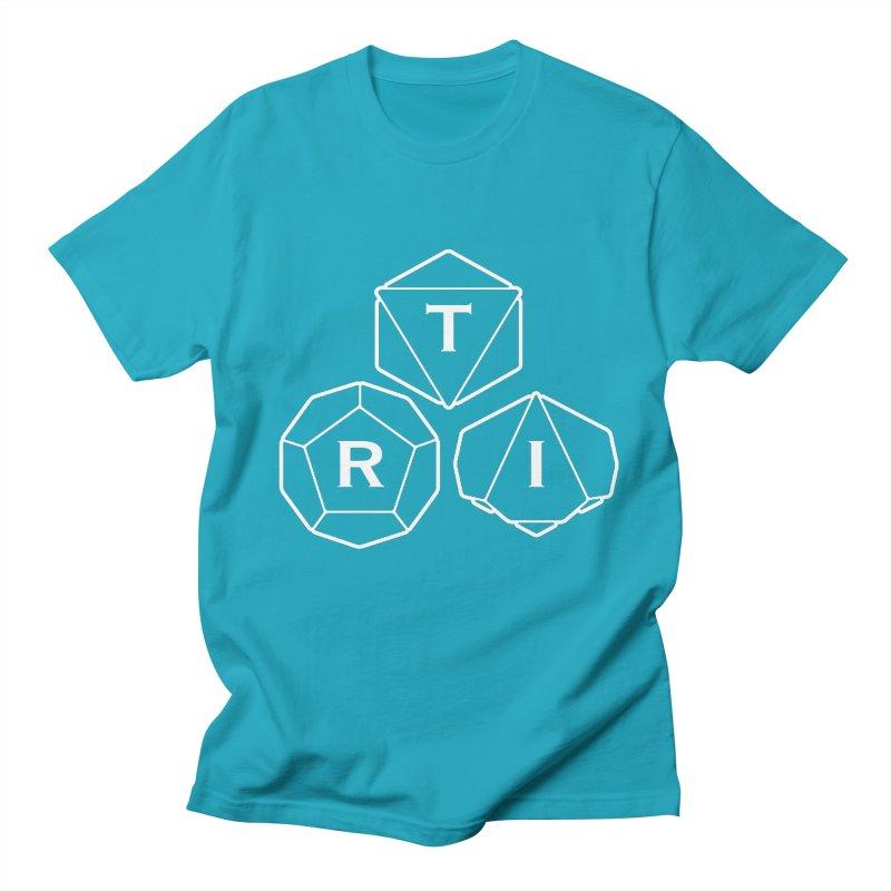 TRI White Logo Men's T-Shirt by The Role Initiative's Artist Shop