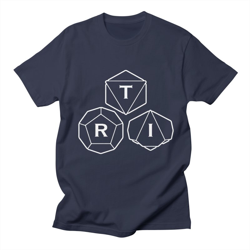 TRI White Logo Women's Regular Unisex T-Shirt by The Role Initiative's Artist Shop