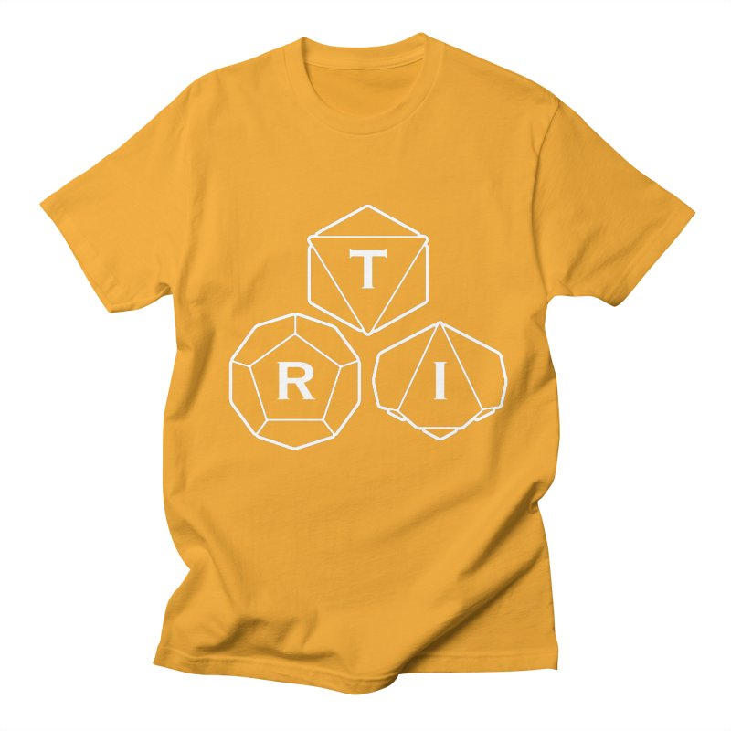 TRI White Logo Men's T-Shirt by The Role Initiative's Artist Shop