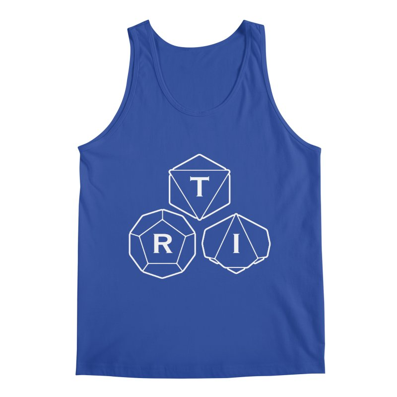 TRI White Logo Men's Tank by The Role Initiative's Artist Shop