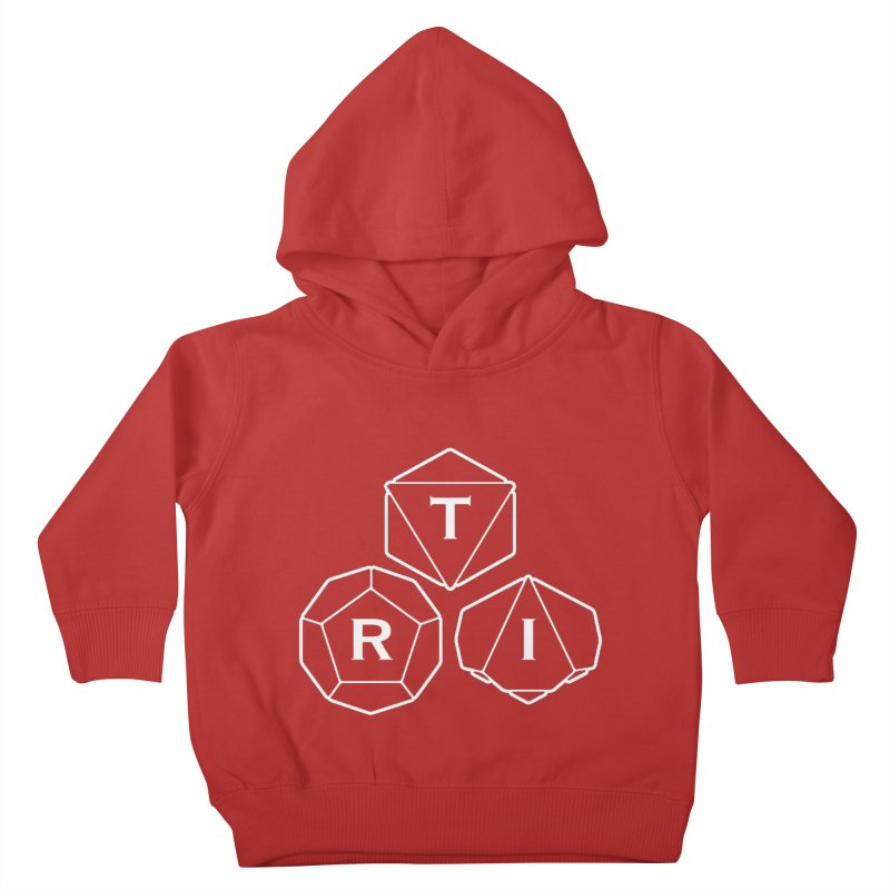 TRI White Logo Kids Toddler Pullover Hoody by The Role Initiative's Artist Shop
