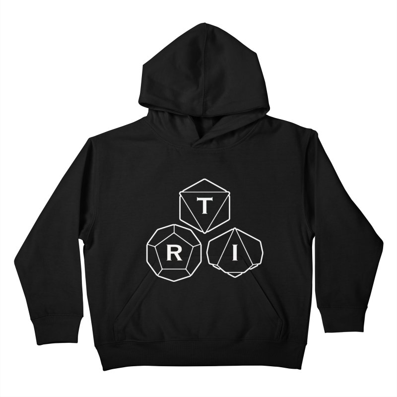 TRI White Logo Kids Pullover Hoody by The Role Initiative's Artist Shop