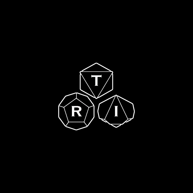 TRI Logo White, upper right   by The Role Initiative's Artist Shop