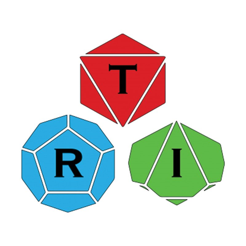 TRI color logo, upper right   by The Role Initiative's Artist Shop