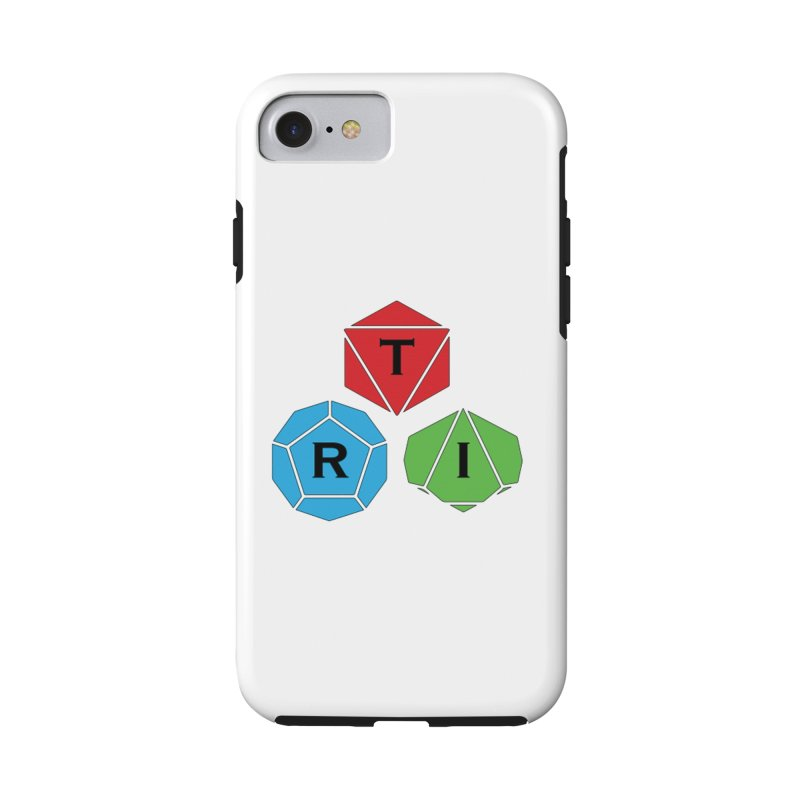 TRI color logo, upper right Accessories Phone Case by The Role Initiative's Artist Shop