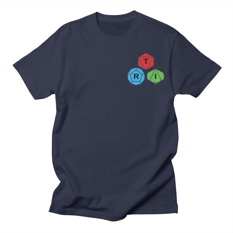 TRI color logo, upper right Men's T-Shirt by The Role Initiative's Artist Shop
