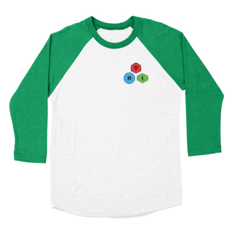 TRI color logo, upper right Women's Longsleeve T-Shirt by The Role Initiative's Artist Shop