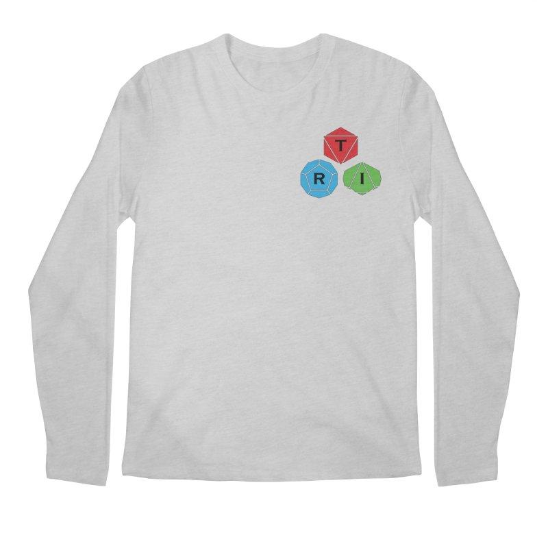 TRI color logo, upper right Men's Regular Longsleeve T-Shirt by The Role Initiative's Artist Shop