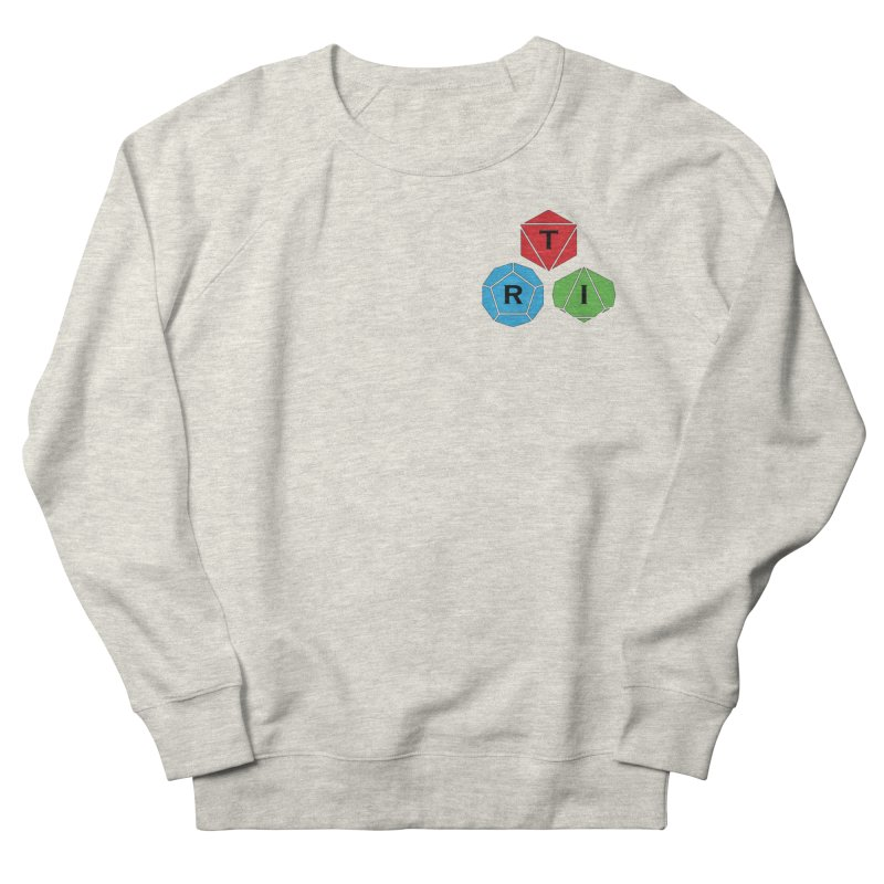 TRI color logo, upper right Women's Sweatshirt by The Role Initiative's Artist Shop