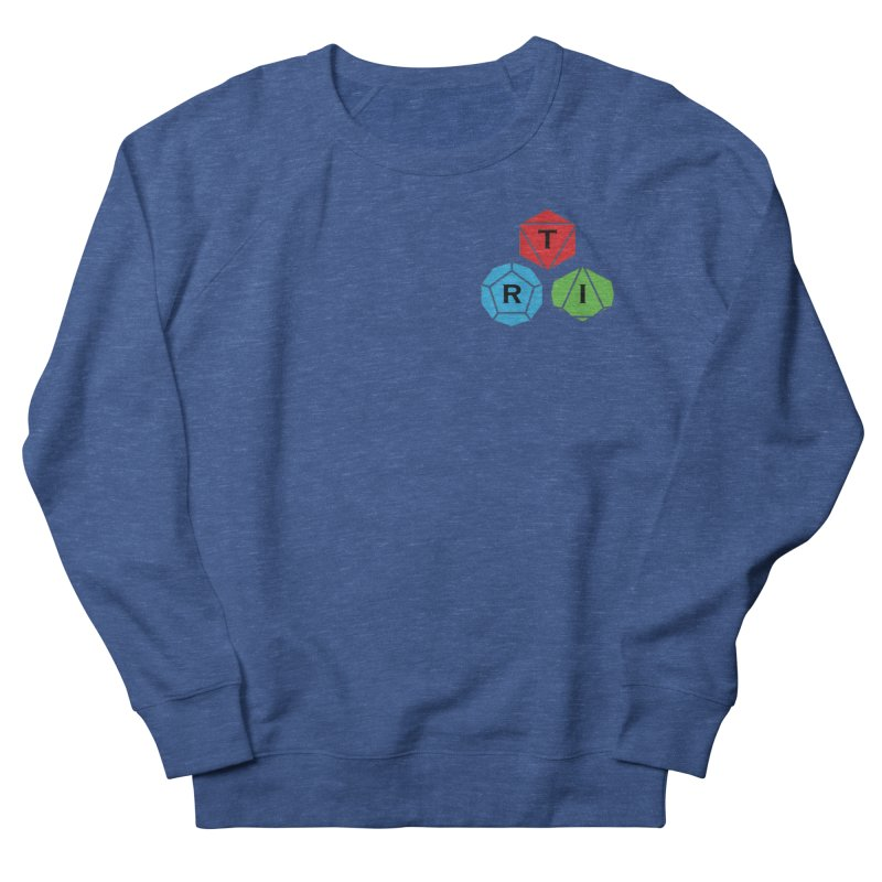 TRI color logo, upper right Men's Sweatshirt by The Role Initiative's Artist Shop