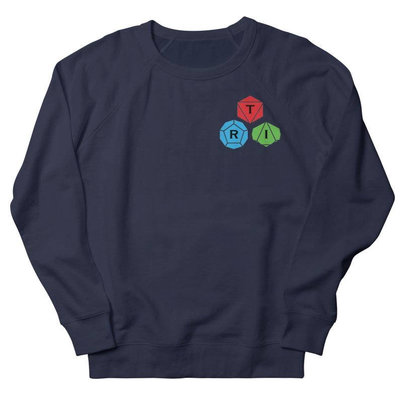 TRI color logo, upper right Men's Sweatshirt by The Role Initiative's Artist Shop
