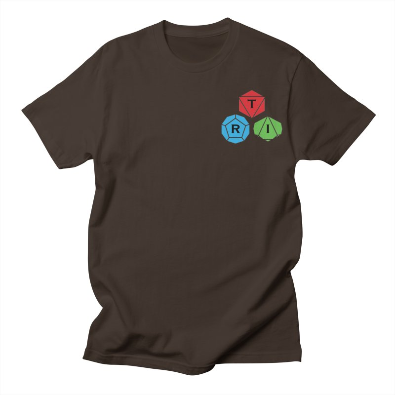 TRI color logo, upper right Men's Regular T-Shirt by The Role Initiative's Artist Shop