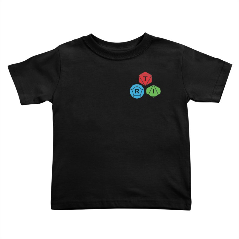 TRI color logo, upper right Kids Toddler T-Shirt by The Role Initiative's Artist Shop