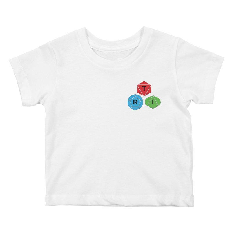 TRI color logo, upper right Kids Baby T-Shirt by The Role Initiative's Artist Shop