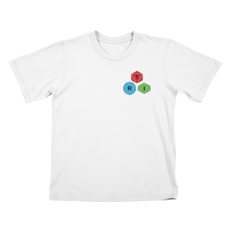 TRI color logo, upper right Kids T-Shirt by The Role Initiative's Artist Shop