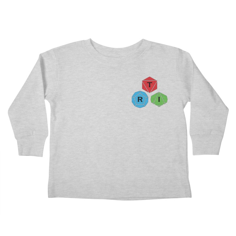 TRI color logo, upper right Kids Toddler Longsleeve T-Shirt by The Role Initiative's Artist Shop