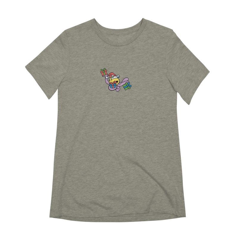 Christmas Flumph Women's Extra Soft T-Shirt by The Role Initiative's Artist Shop