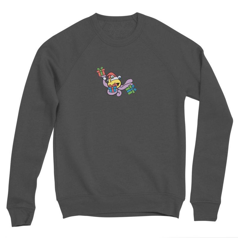 Christmas Flumph Men's Sponge Fleece Sweatshirt by The Role Initiative's Artist Shop