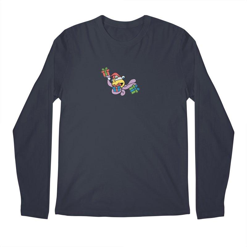 Christmas Flumph Men's Regular Longsleeve T-Shirt by The Role Initiative's Artist Shop