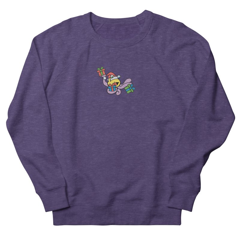 Christmas Flumph Men's French Terry Sweatshirt by The Role Initiative's Artist Shop