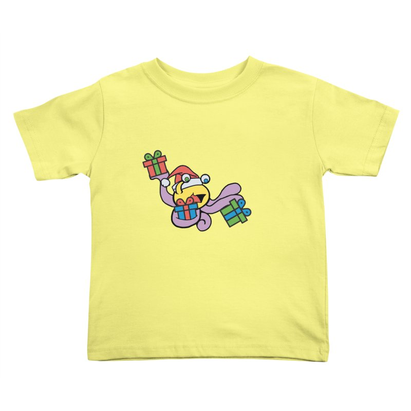 Christmas Flumph Kids Toddler T-Shirt by The Role Initiative's Artist Shop