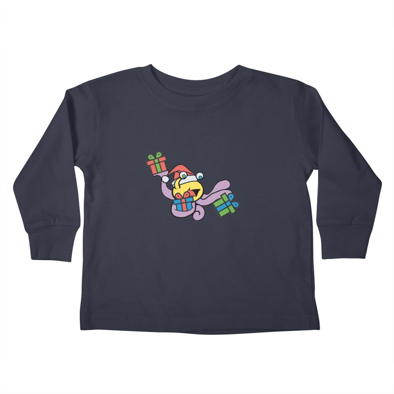 Christmas Flumph Kids Toddler Longsleeve T-Shirt by The Role Initiative's Artist Shop
