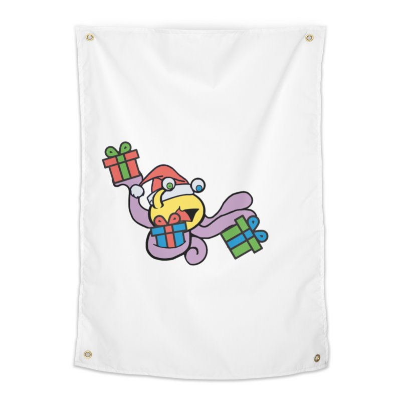 Christmas Flumph Home Tapestry by The Role Initiative's Artist Shop