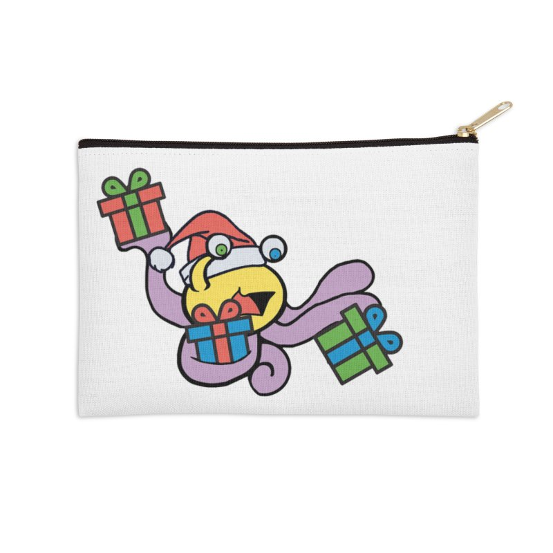 Christmas Flumph Accessories Zip Pouch by The Role Initiative's Artist Shop