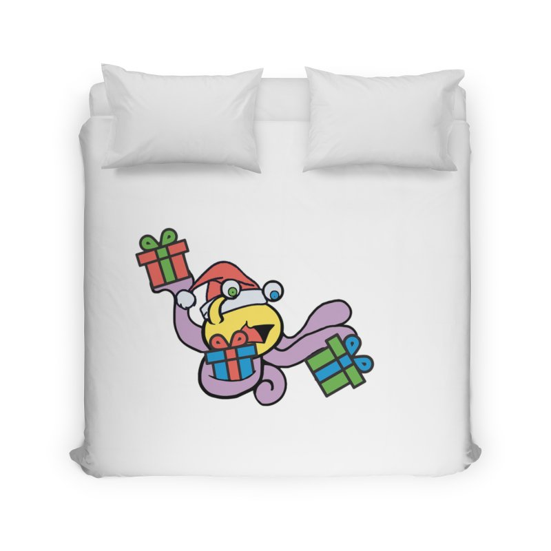 Christmas Flumph Home Duvet by The Role Initiative's Artist Shop