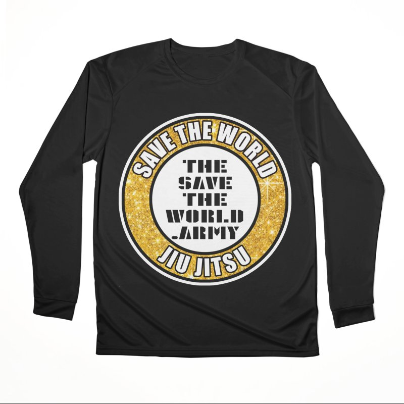 STWJJ Women's Performance Unisex Longsleeve T-Shirt by THE SAVE THE WORLD ARMY!