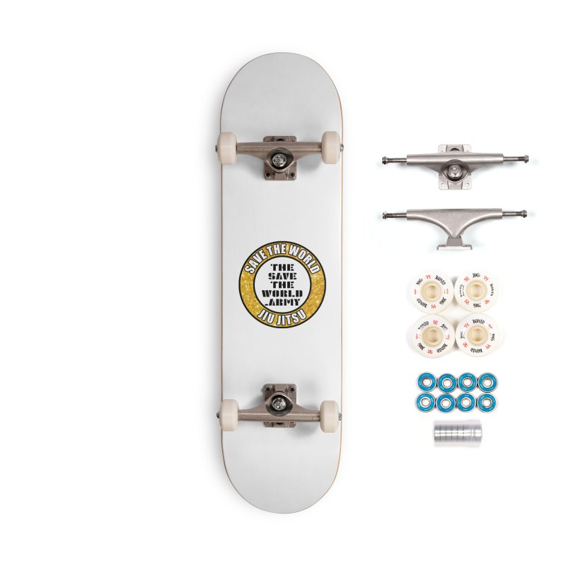 STWJJ Accessories Complete - Premium Skateboard by THE SAVE THE WORLD ARMY!