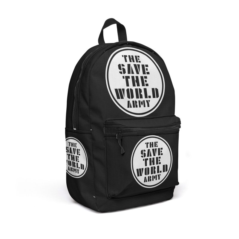 THE SAVE THE WORLD ARMY! Accessories Bag by THE SAVE THE WORLD ARMY!
