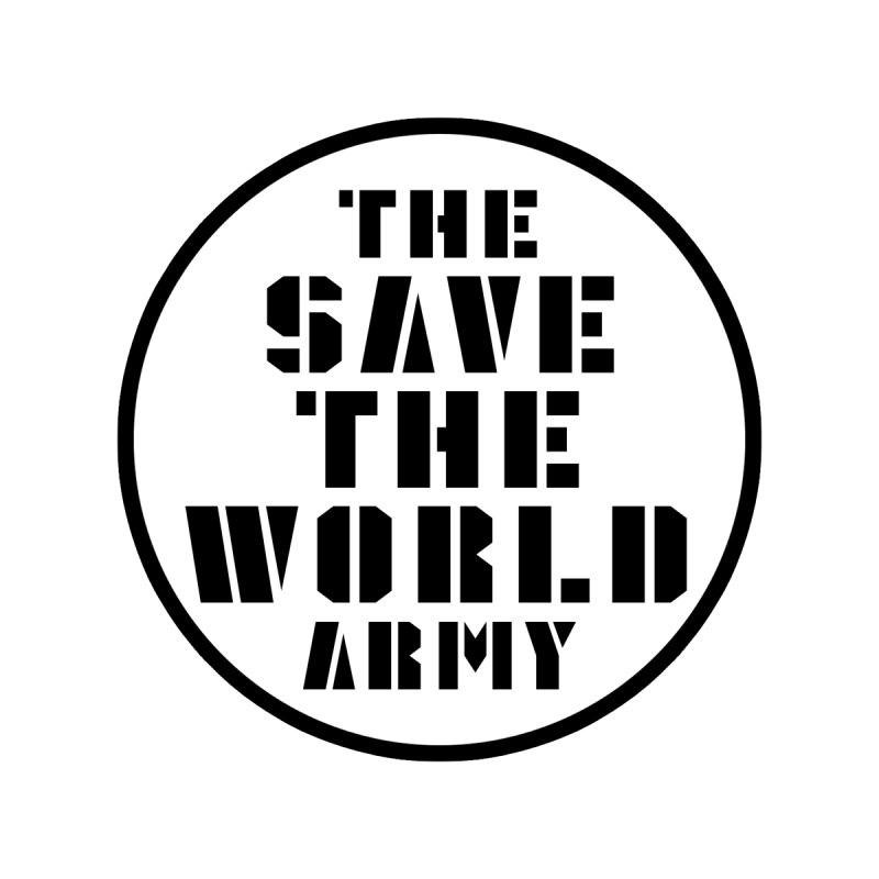 THE SAVE THE WORLD ARMY! Accessories Zip Pouch by THE SAVE THE WORLD ARMY!