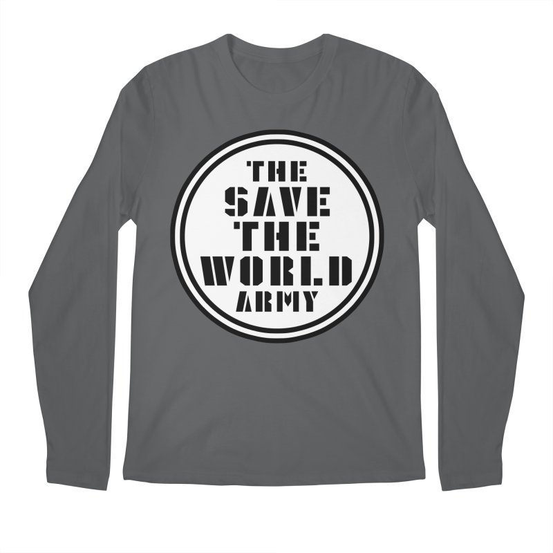 THE SAVE THE WORLD ARMY! Men's Longsleeve T-Shirt by THE SAVE THE WORLD ARMY!