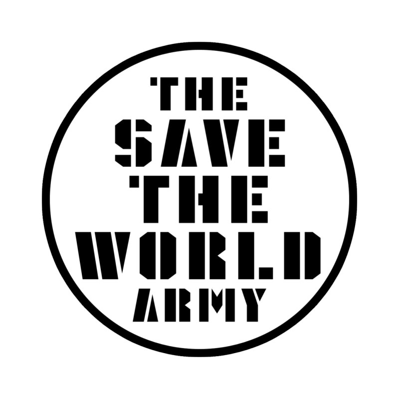 THE SAVE THE WORLD ARMY! Women's V-Neck by THE SAVE THE WORLD ARMY!