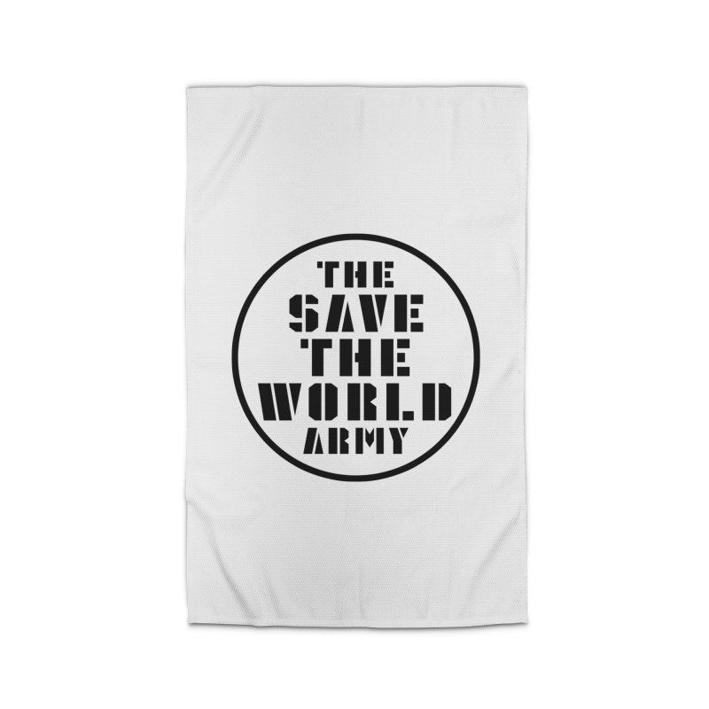THE SAVE THE WORLD ARMY! Home Rug by THE SAVE THE WORLD ARMY!