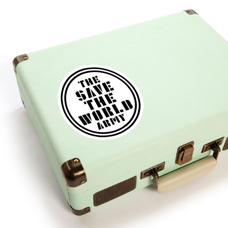 THE SAVE THE WORLD ARMY! Accessories Sticker by THE SAVE THE WORLD ARMY!