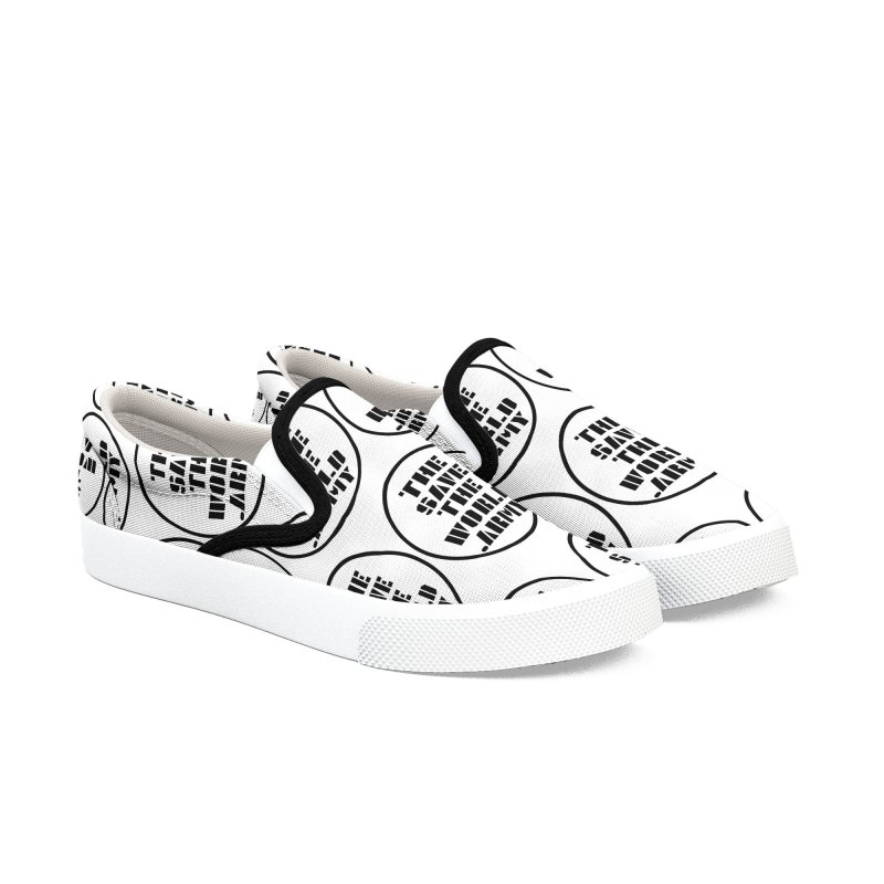 !THE SAVE THE WORLD ARMY! Women's Slip-On Shoes by THE SAVE THE WORLD ARMY!