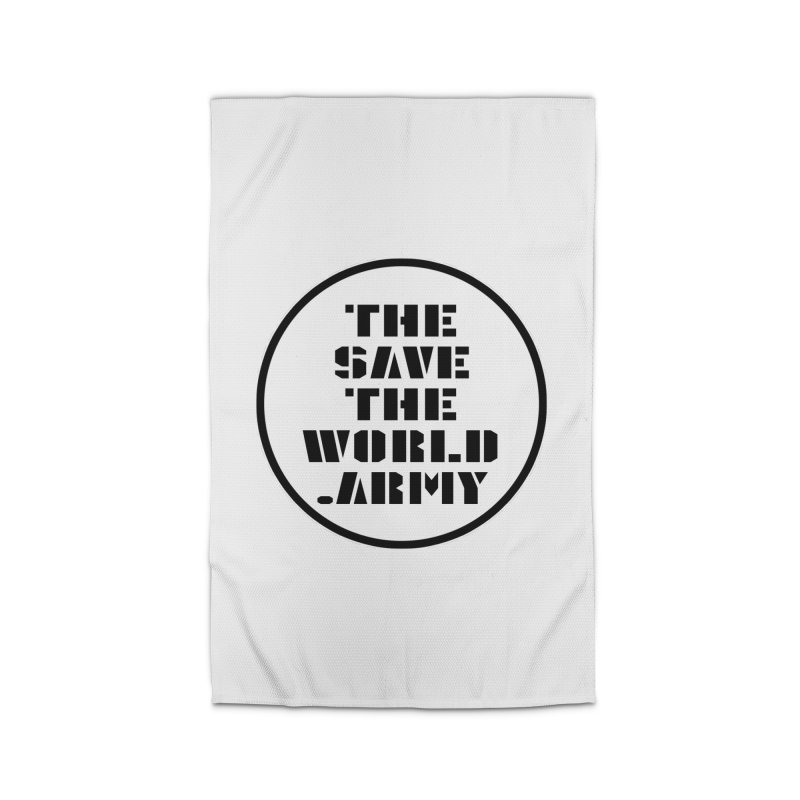 !THE SAVE THE WORLD ARMY! Home Rug by THE SAVE THE WORLD ARMY!