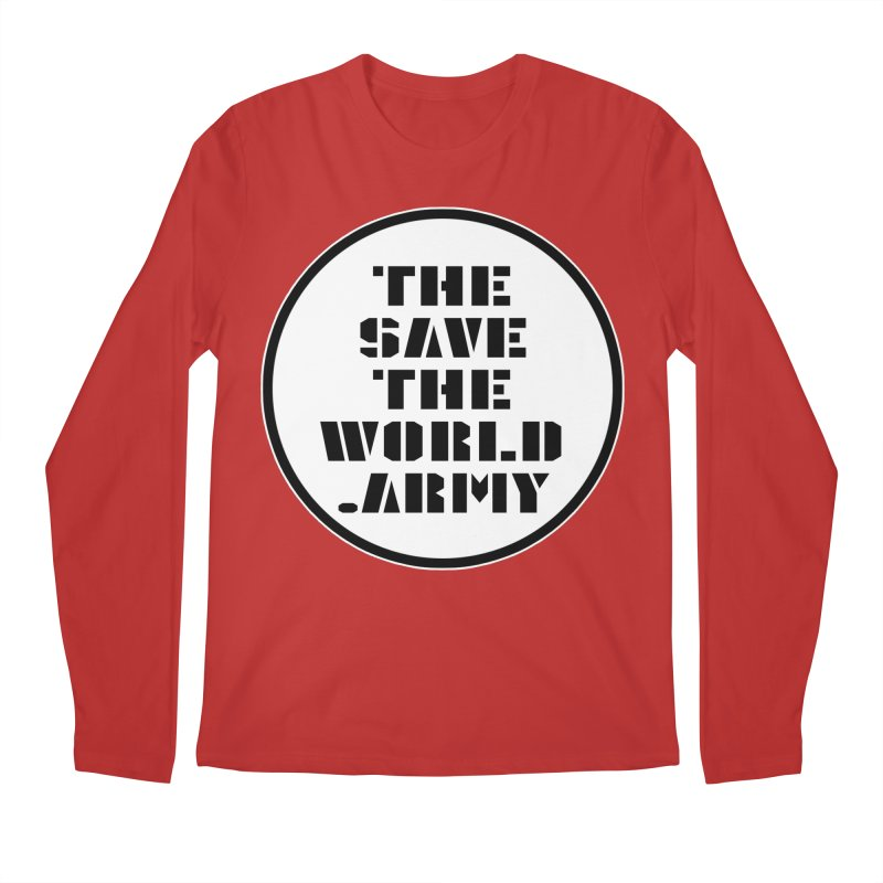 !THE SAVE THE WORLD ARMY! Men's Regular Longsleeve T-Shirt by THE SAVE THE WORLD ARMY!