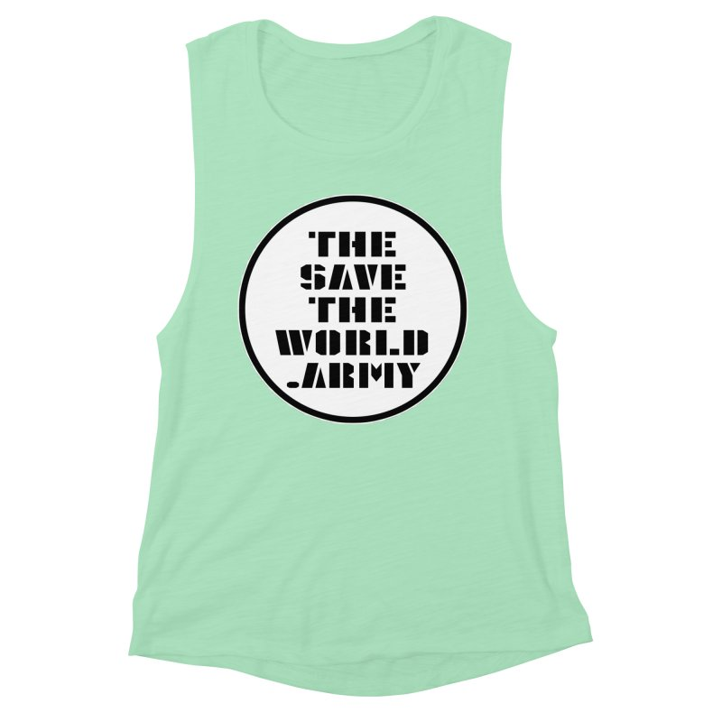 !THE SAVE THE WORLD ARMY! Women's Tank by THE SAVE THE WORLD ARMY!