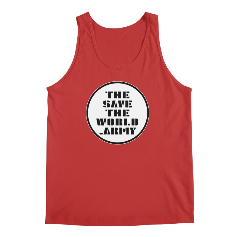 !THE SAVE THE WORLD ARMY! Men's Regular Tank by THE SAVE THE WORLD ARMY!