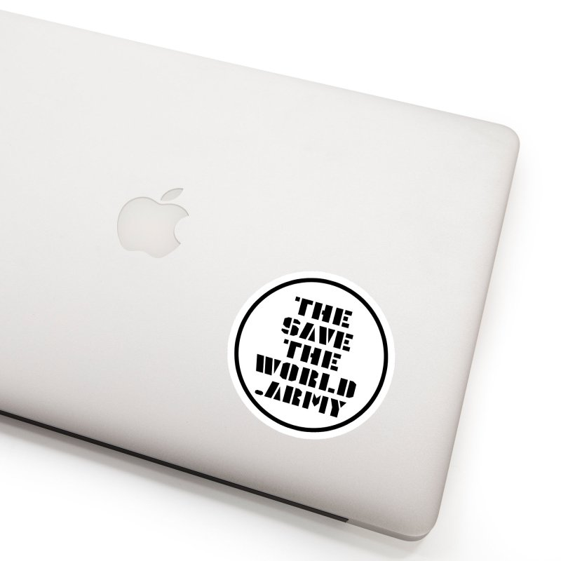 !THE SAVE THE WORLD ARMY! Accessories Sticker by THE SAVE THE WORLD ARMY!