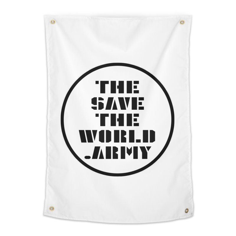 !THE SAVE THE WORLD ARMY! Home Tapestry by THE SAVE THE WORLD ARMY!