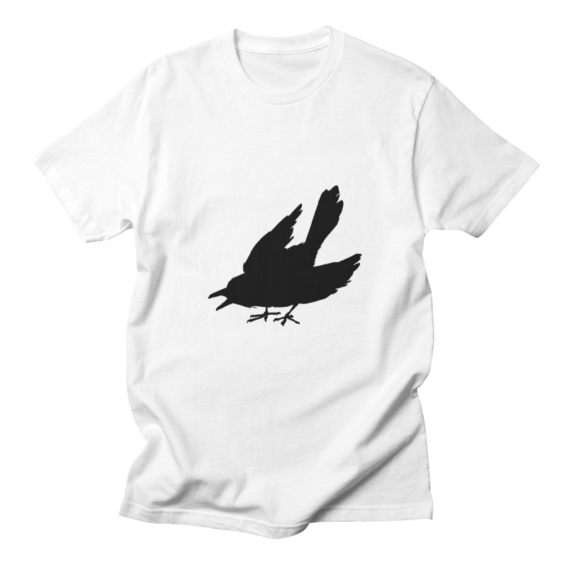 Scared Crow T-Shirt White Men's T-Shirt by THE SCARED CROWS MERCH STORE