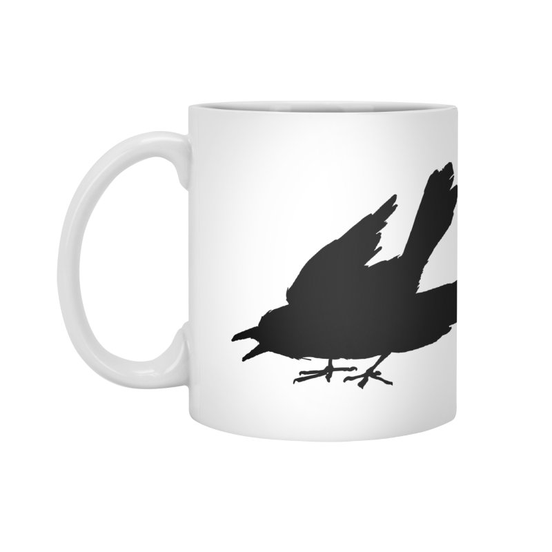 Scared Crow Mug White Accessories Mug by THE SCARED CROWS MERCH STORE