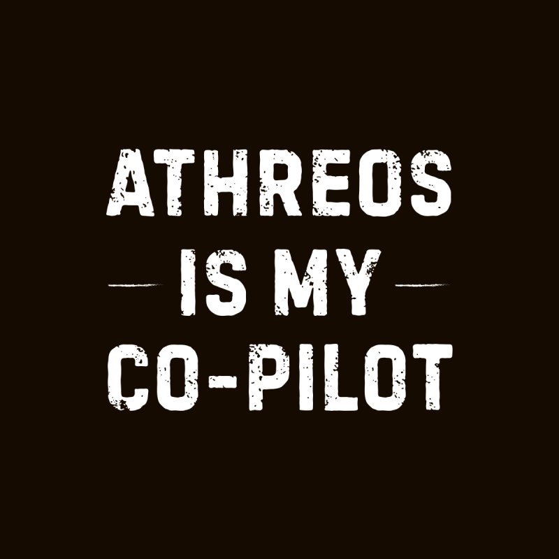 Athreos is My Co-Pilot Men's T-Shirt by The Schwaggering
