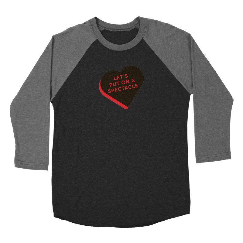 Let's Put on a Spectacle (Magic the Gathering Valentine - Rakdos) Women's Longsleeve T-Shirt by The Schwaggering