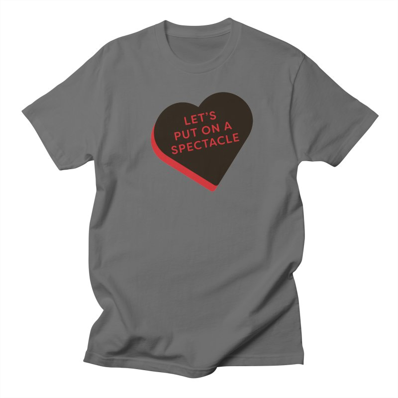 Let's Put on a Spectacle (Magic the Gathering Valentine - Rakdos) Men's T-Shirt by The Schwaggering