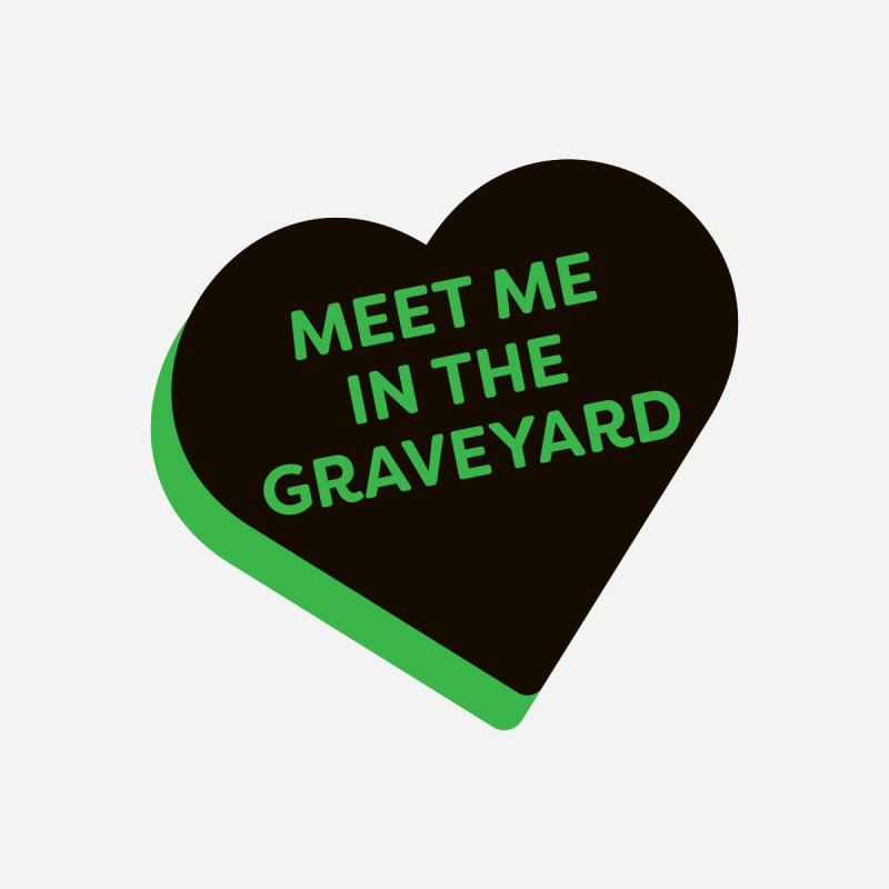 Meet Me in the Graveyard (Magic the Gathering Valentine - Golgari) Men's T-Shirt by The Schwaggering